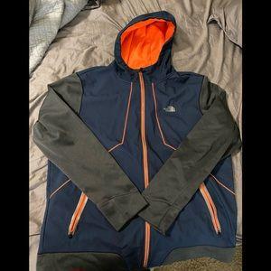Authentic NorthFace Full Zip Hoodie Size XXL